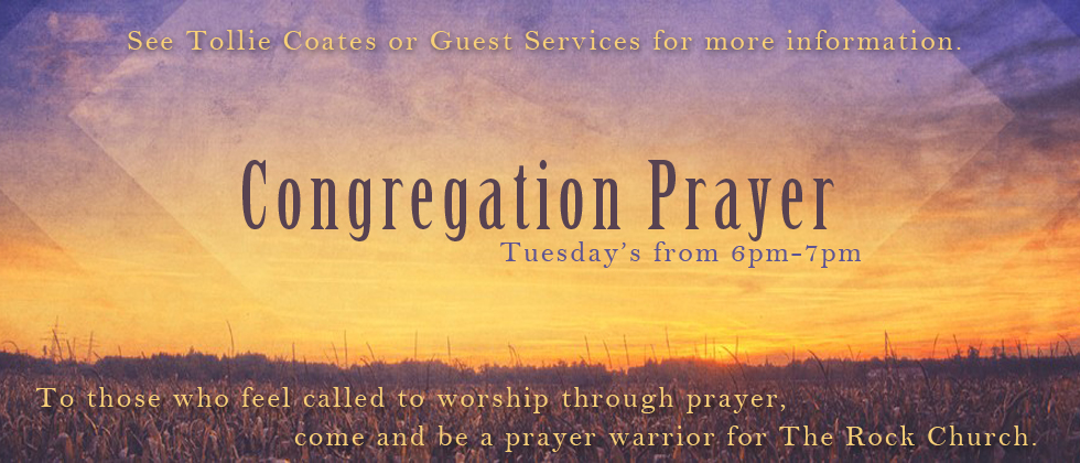 Congregation Prayer