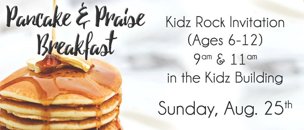 Kidz Pancake and Praise