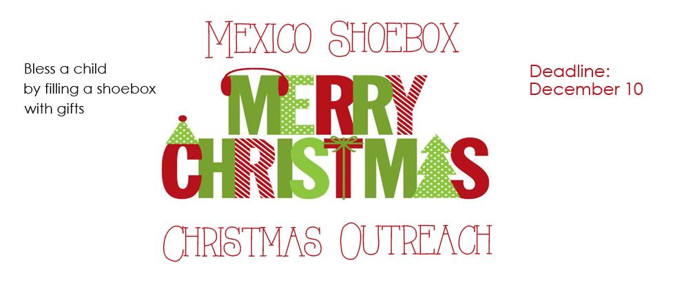 Christmas Shoe Box